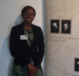 Congratulations to Dr Agatha Banga who has been selected as a Mandela Rhodes Scholar